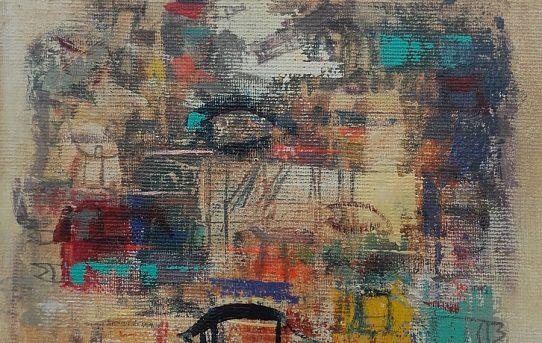 "Pintura ""Sin Titulo"" 2017"