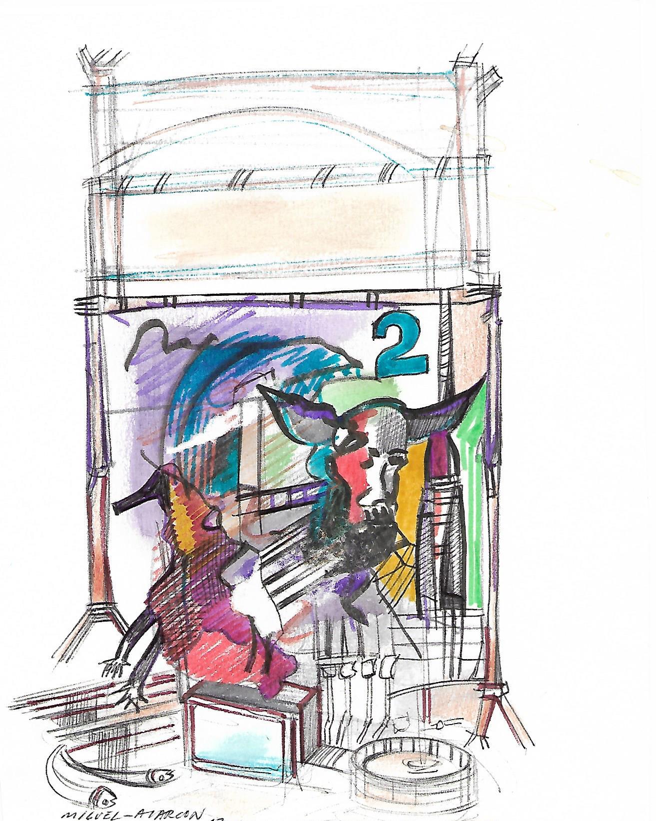 Dibujo Londres 2012 Inspiración