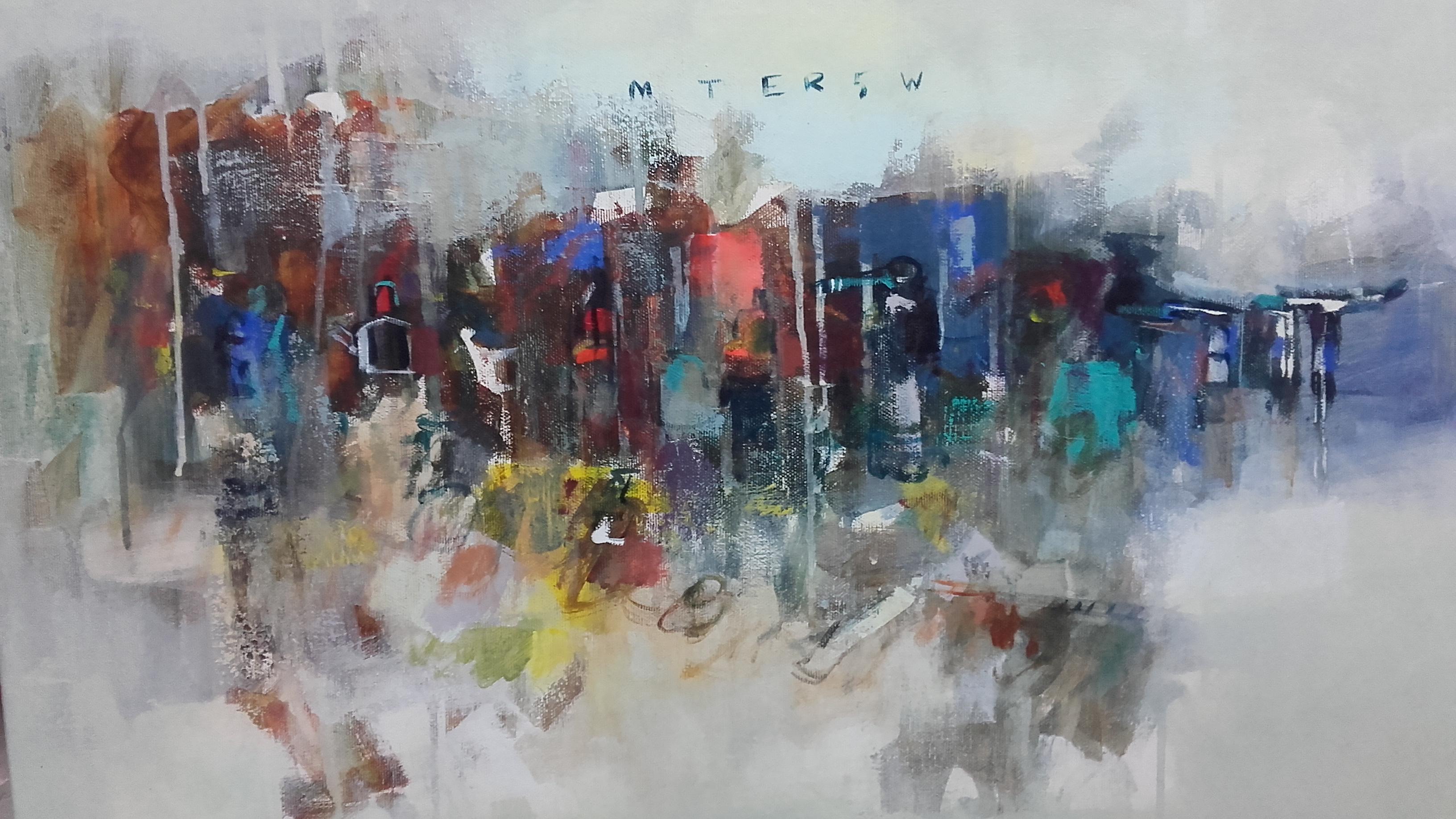 Sin Titulo,acrílico sobre tela ,2017