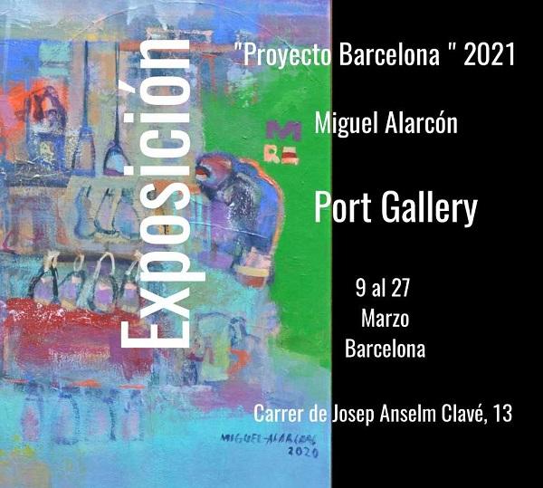 Exposición Proyecto Barcelona 2021