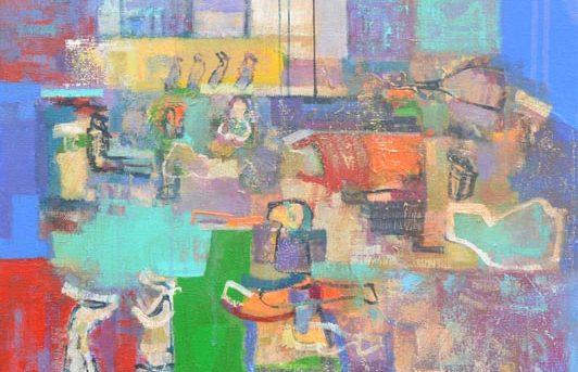 Pinturas de la última Exposición Marzo 2021 Port Gallery